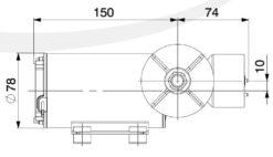 Marco DP9/E Pompe à laver + contrôle électronique 4 bar - 58 psi 8