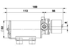 Marco SP2 SP2 Kit pompe douche 2 bar 10