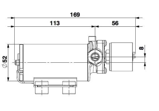 Marco SP2 SP2 Kit pompe douche 2 bar 5