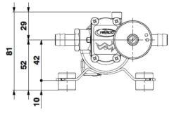 Marco SP2 SP2 Kit pompe douche 2 bar 9