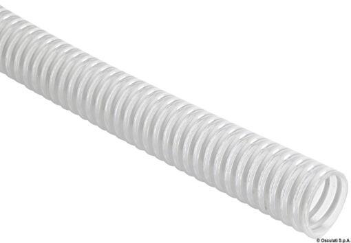 Tuyau avec spirale en PVC blanc 37 mm - Art. 18.006.30 3
