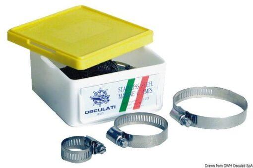 Collier de serrage inox 90/114 mm - Art. 18.029.10 3