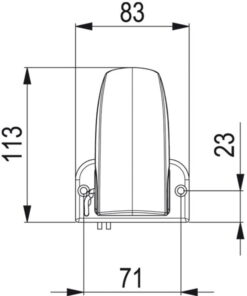 Marco AS2 Interrupteur autom.pour Pompes de vide cale 4