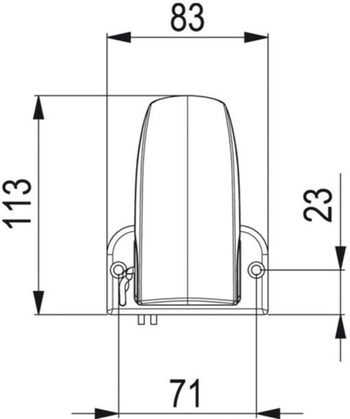 Marco AS2 Interrupteur autom.pour Pompes de vide cale 3
