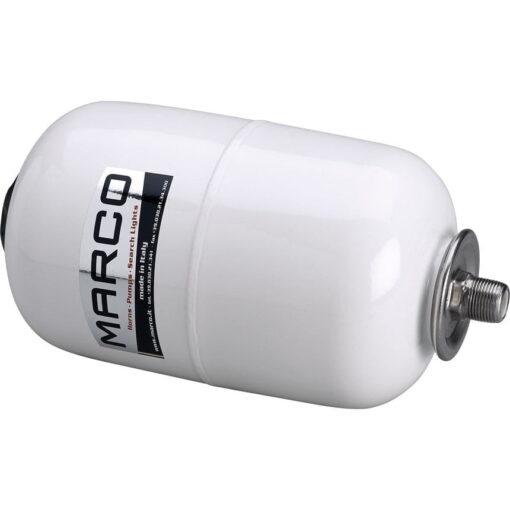"""Marco AT2 Vase d'expansion blanc 5 l avec connexion à T 3/4"""" 3"""