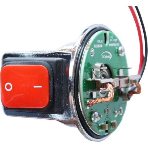 Marco Pièces de réchange R6400061 - porte-balais CE avec ON-OFF Switch pour Motor ø62 mm 3